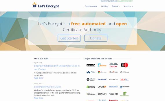 LetSencrypt | 免费HTTPS数字证书申请