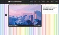 SimpleDesktops | 清新极简的壁纸图片网站